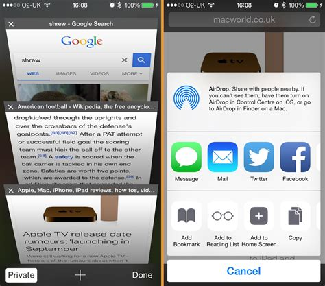 safari web browser mobile discover the 7 best iphone browsers macworld uk