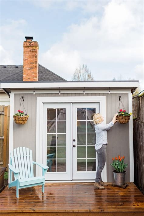 custom  shed outdoor studio backyard office office