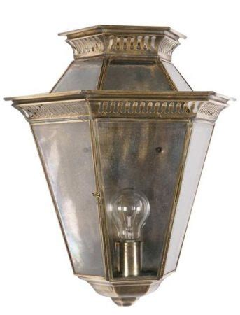Period Outdoor Lighting Vintage Replica Solid Brass Edwardian Outdoor Passage