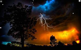Awesome Lighting real lightning bolts wallpaper