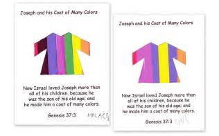 joseph and the coat of many colors joseph delightful learning
