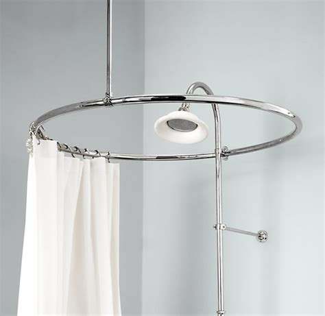 tub shower curtain rod claw foot tub shower rod perfect image of clawfoot shower
