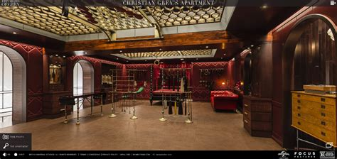 Christiangreysapartment by Welcome Inside Christian Grey S Red Room 50 Shades