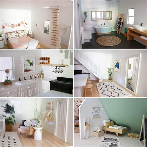 doll house makeover 14 modern day diy dolls house renovations mum s grapevine