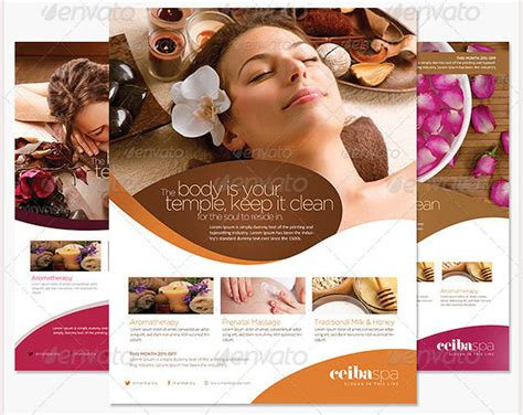 71 Beauty Salon Flyer Templates Free Psd Eps Ai Illustrator Format Downlaod Free Spa Flyer Templates Free