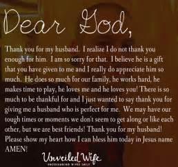 prayer thankful for my husband