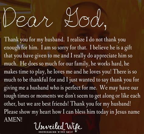 quotes for my husband prayer thankful for my husband