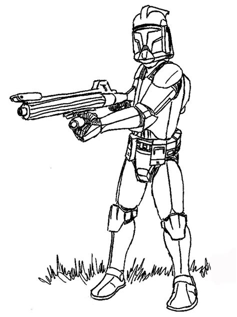 Printable Star Wars Coloring Pages Coloring Me Wars Clone Wars Coloring Pages