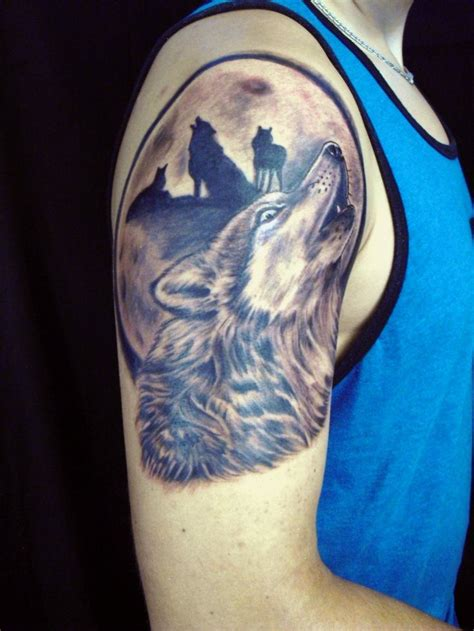 wolfpack tattoo howling wolf wolves pack by diane lange moonlight
