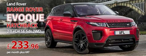 range rover evoque lease hire land rover lease deals car contract hire
