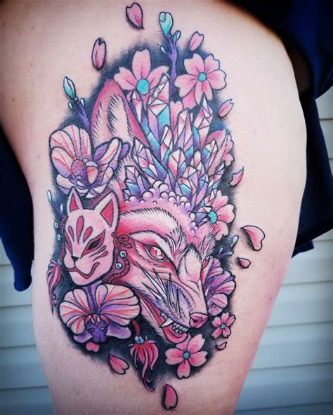 age of reason tattoo kitsune by greig age of reason bowling