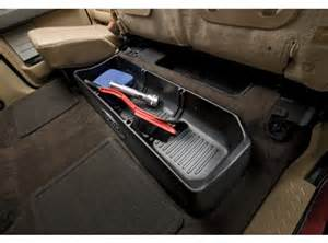 Ford Edge Below Floor Cargo Management System Cargo Organizer Supercrew For Use With Or Without