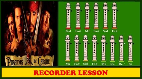 tutorial video recorder pirates of the caribbean on recorder tutorial youtube