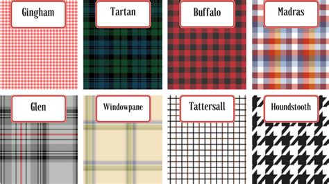 check vs plaid 10 patterns every gentleman should know about