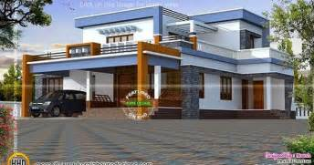 Exterior Home Design Types by Box Type House Exterior Elevation Kerala Home Design And