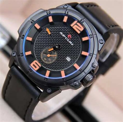 Jam Tangan Gc Brown List Orange jual jam tangan ripcurl chrono detik tali kulit rc6622