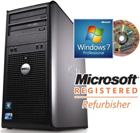 Cpu Windows 7 Pro Merk Dell Optiplex 380 Ram 2 Gb dell optiplex 780 mt e8500 desktop used or refurbished