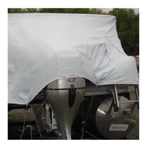 transhield pontoon cover transhield 24 ft pontoon reusable boat cover for 6 ft