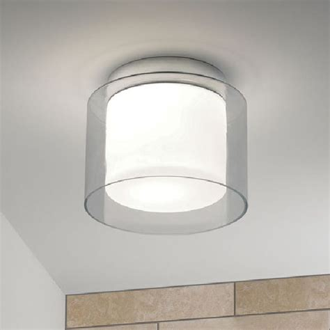Bathroom Lighting Centre Astro Arezzo 0963 Bathroom Ceiling Light Glass And Chrome Ip44 Bathroom Lightin Bathroom