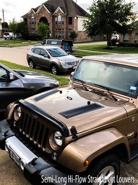 louvers for jeep jeep gallery louvers runcool vents for