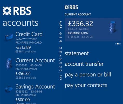 bank of scotland app the royal bank of scotland mobile banking app now
