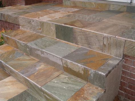 Geflieste Treppen Bilder by Tiled Concrete Steps Tips How To Build A House