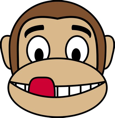 clipart png monkey emoji clipart clipartxtras