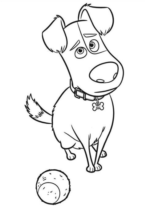 Kids N Fun Com 29 Coloring Pages Of Secret Life Of Pets Pets Coloring Pages