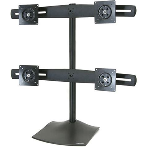 ergotron ds100 quad monitor desk stand ergotron ds100 quad monitor desk stand black 33 324 200 b h