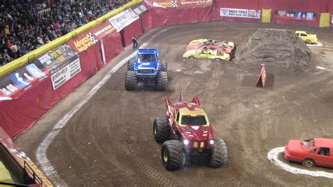 kids monster truck my crazy life with 4 kids monster truck show
