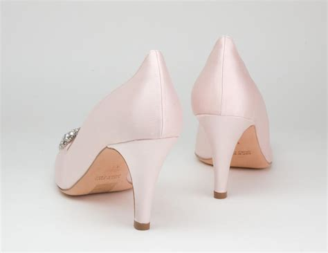 light pink wedding shoes light pink wedge wedding shoes