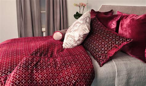 raspberry comforter kevin o brien studio metallic petals raspberry bedding