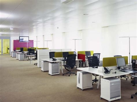 open floor plan office space the open space is a classic open plan office where a
