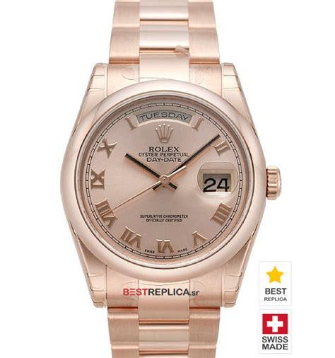 Rolex Rantai Silver Combi Rosegold rolex day date 18k everose gold gold bestreplica