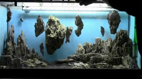 how to set up an aquascape allestimento acquario fantasy aquarium setup aquascape