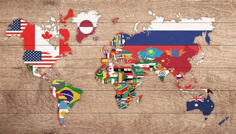 flags of the world map pins wooden world map flags 100 free pins woodmap com 1