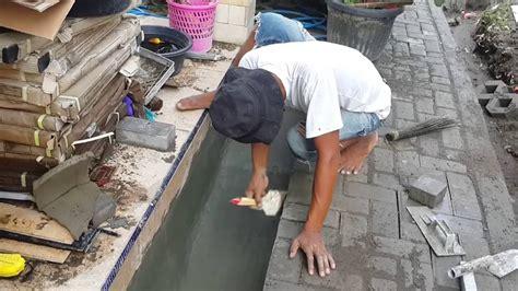 cara membuat hidroponik kolam cara membuat kolam tanaman air youtube