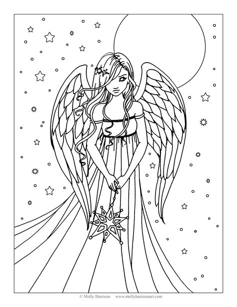 molly color free coloring page by molly harrison