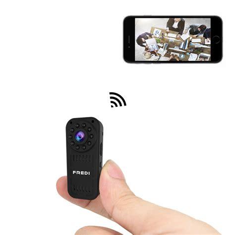camaras minis fredi hidden camera 1080p hd mini wifi camera spy camera
