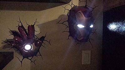 Glow In The Dark Star Wall Stickers 3d deco superhero wall lights thinkgeek