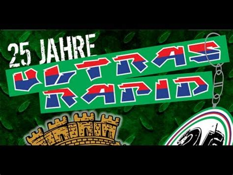 Ultras Rapid Aufkleber by 25 Jahre Ultras Rapid Block West 1988 Youtube