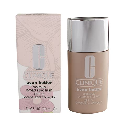 Clinique Even Better Makeup And Correct Foundation clinique even better makeup broad spectrum spf15 evens