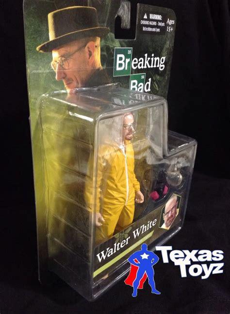 Mezco Toyz Breaking Bad 6 Walter White Hazmat Figure mezco toyz breaking bad walter white hazmat 6in figure yellow suit