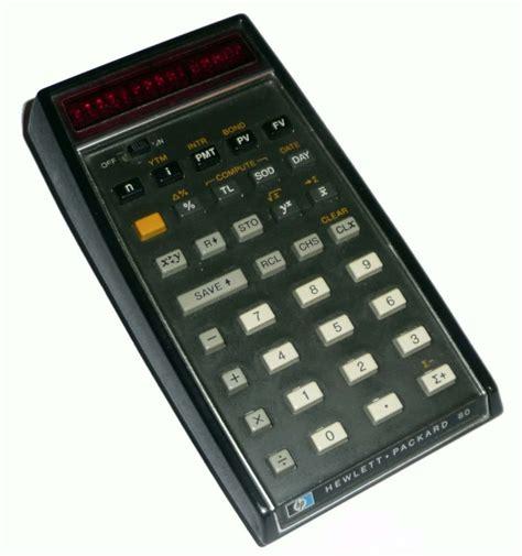 Hewlett Packard Hp 80 Calculator Computing History