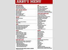 Arby's Menu, Menu for Arby's, Lakeside, San Diego ... Arby S Menu Prices