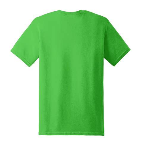 gildan 5000 heavy cotton t shirt electric green