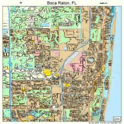 where is boca raton on the florida map boca raton florida map 1207300