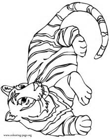 color tiger free coloring pages of sad tiger