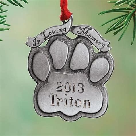 personalized pet memorial ornament products i love
