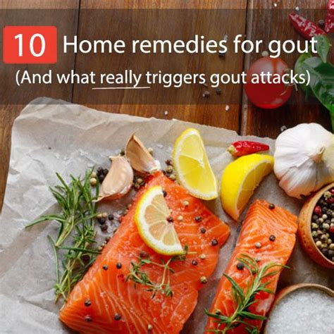 10 top home remedies for gout and what really triggers